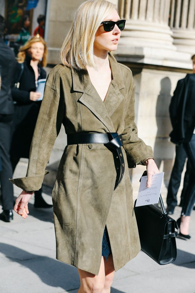 Street looks à la Fashion Week automne-hiver 2015-2016 de Paris
