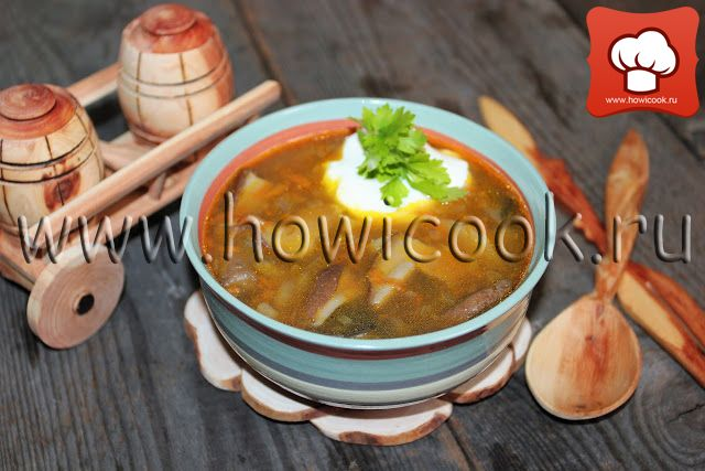 HowICook: Суп с белыми грибами