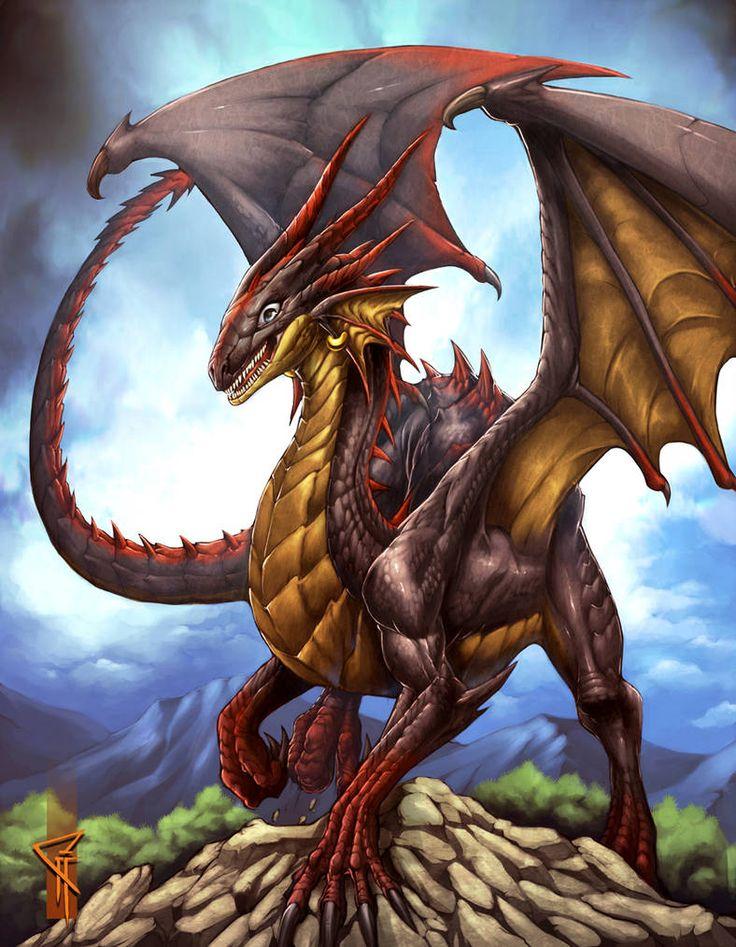 Драконы картинки большого формата