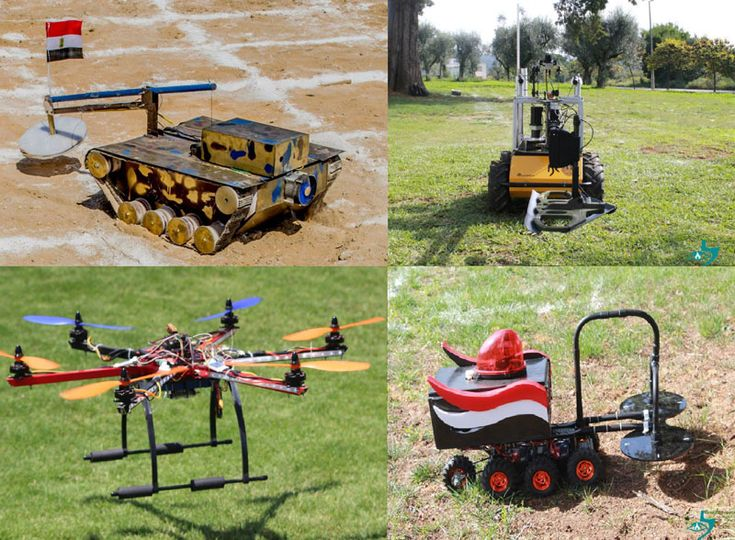 Minesweepers 2014: Outdoor robotic competition on humanitarian demining