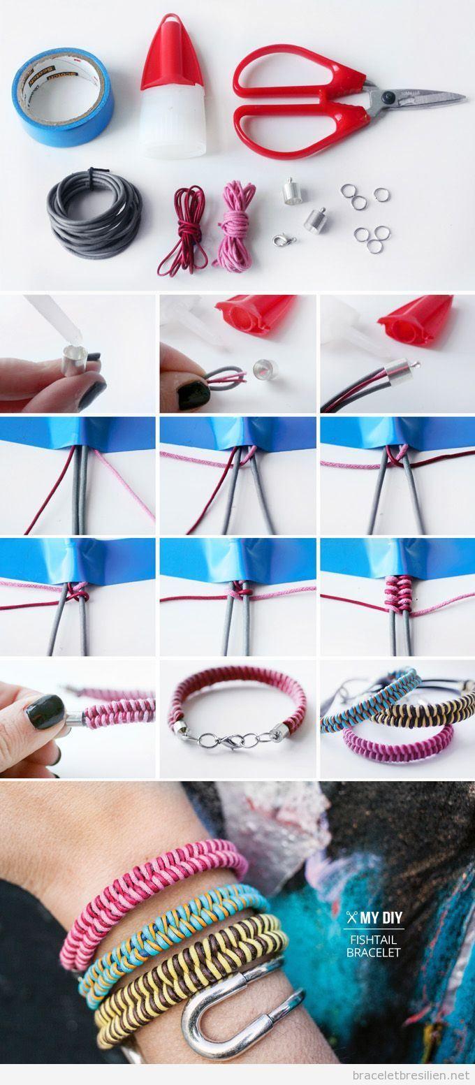 Sehr Plus de 25 idées uniques dans la catégorie Bracelet fil sur  IZ61