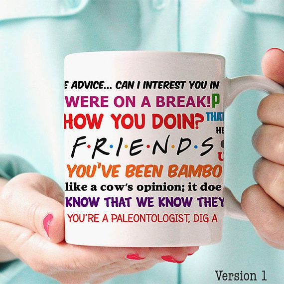 Friends Quotes Tv One Liners: Best 25+ Friends Tv Show Gifts Ideas On Pinterest