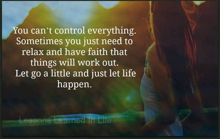 You Can't Control Everything...