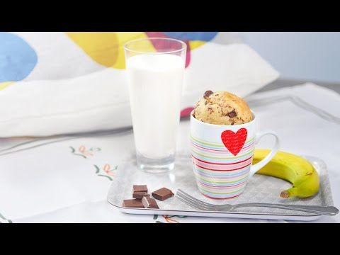 Schoko-Banane-Tassenkuchen, yummie! - Klein aber Lecker