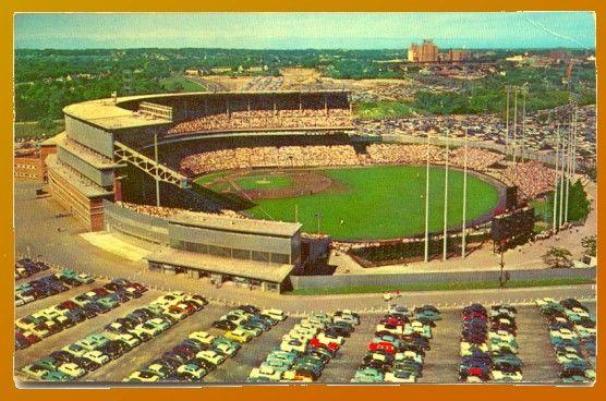 Milwaukee County Stadium, Milwaukee WI - Brewers
