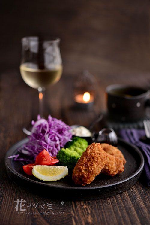 牡蠣フライ - fried Oysters