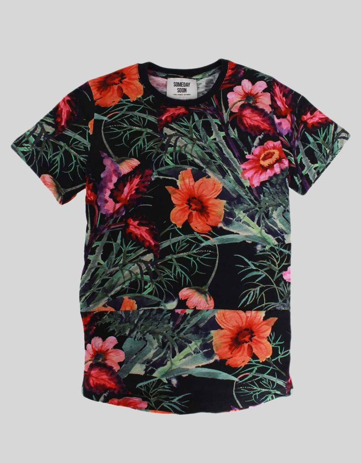 Someday Soon MultiColour Jamaica T-shirt | Accent Clothing
