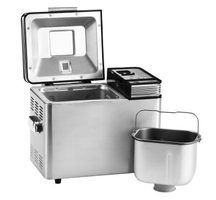 Homemade bread is easy with an electronic breadmaker.