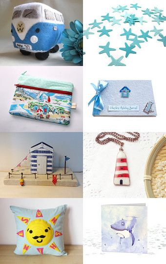 I Do Like To Be Beside The Seaside!!! by Carolyn Ford on Etsy--Pinned with TreasuryPin.com