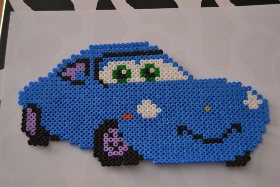 Sally - Cars Cars hama beads by  Mircoles Nightmare
