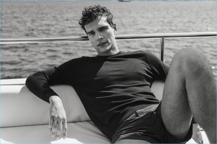 Alexandre Cunha Takes in Summer with Forbes España - The Fashionisto
