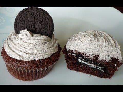 Cookies 'n' Cream Cupcakes (auf deutsch)