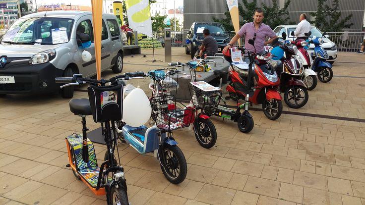 Escooter-shop bei der Europäischen Mobilitätswoche 2016