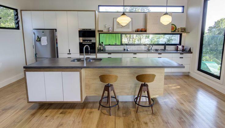 Pop Concrete | Polished Concrete Benchtops Vanities Brisbane, Concrete Furniture, Street Furniture » Kitchens
