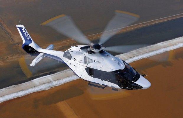 Aeronave projetada pelo Laboratório de Design da marca francesa de carros usa como base o helicóptero modelo Dauphin