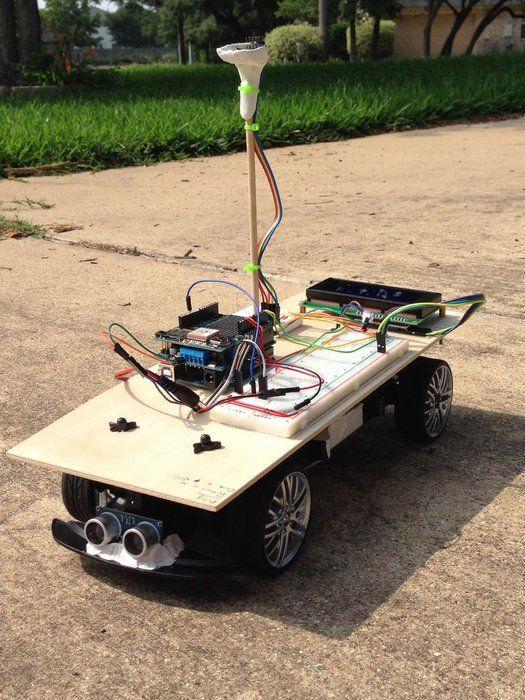 Arduino Powered Autonomous Vehicle   Pi Projects   Arduino, Diy