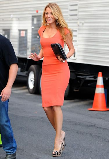 Love the dress and shoe combo: Fashion, Celebrities Style, Roland Mouret, Blake Lively, Blake Living, Red Carpets, Corporate Chic, Pencil Dresses, Gossip Girls