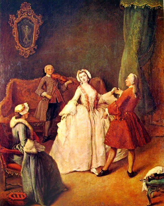 1741, Lezione di Danza, Pietro Longhi