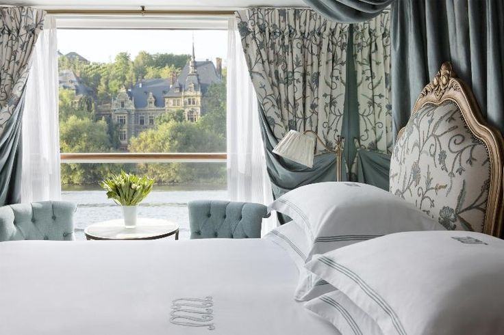 Uniworld River Cruises | Boutique Hotel-Style Staterooms - Gorgeous.