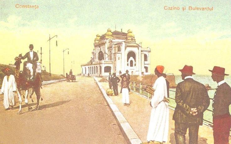 Constanta - Cazinoul - antebelica