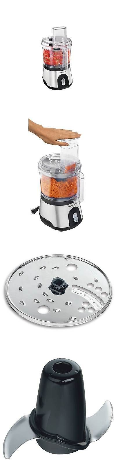 Small Kitchen Appliances: Hamilton Beach 10 Cup Food Processor- Stainless 70760 -> BUY IT NOW ONLY: $49.49 on eBay!