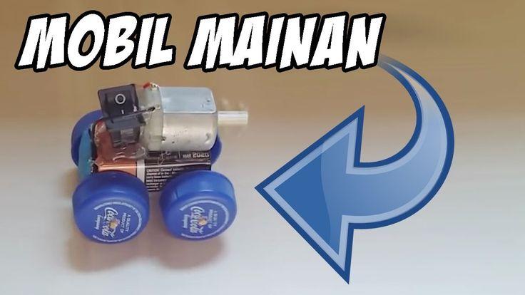 Amazing!!! Membuat Mobil Mainan Sederhana Tapi Keren!