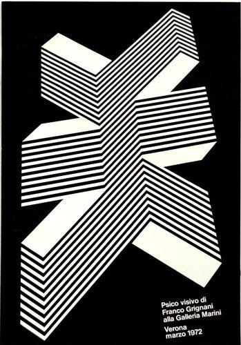 Progetto grafico di Franco Grignani, (1908-1999). Stampa, Lucini.