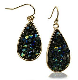 Robert Rose Druzy Stone Earrings