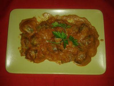 Alcachofas en Salsa de Tomate, Avena y Almendras