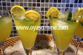 Oya's Cuisine - Zencefil Ve Naneli Limonata