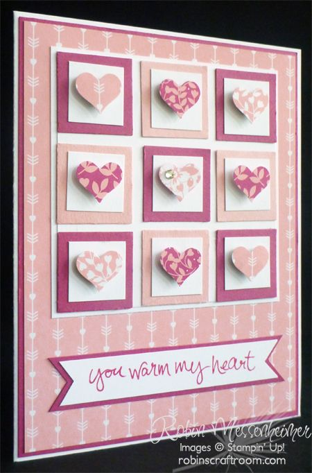 Aloha, all! It's Valentine's Day week and I've got to get all my cards in the mail by tomorrow – and yes, they're all made – Yay! Today and the rest of the week I'll share some of the cards