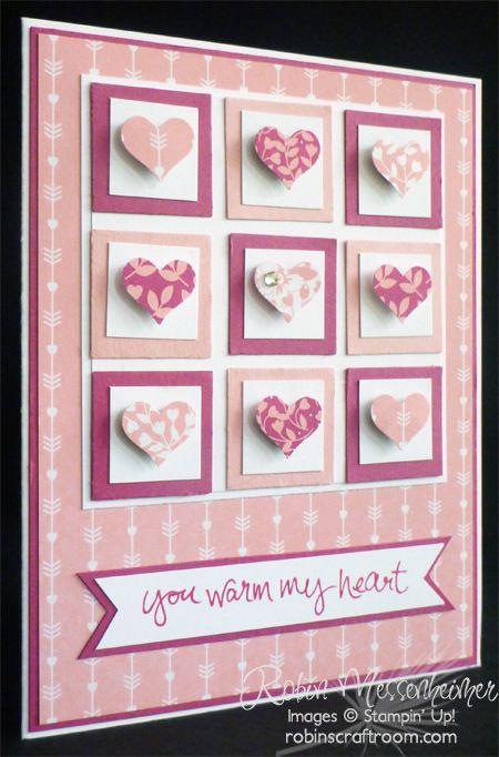 Fun with Valentine Cards – Card #3 http://bareskylls.com/