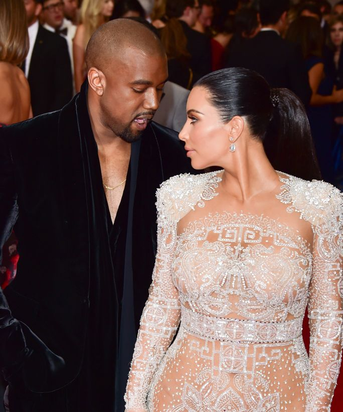 Kanye West's First-Anniversary Tweet to Kim Kardashian Might Be the Sweetest Thing Ever from #InStyle