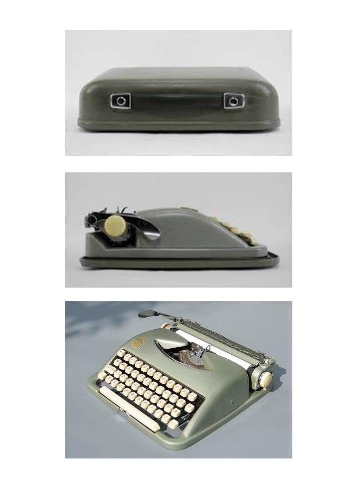 ABC Typewriter, or schreibmaschine, by Wilhelm Wagenfeld for Kochs Adler Nähmaschinen Werke AG, 1950s