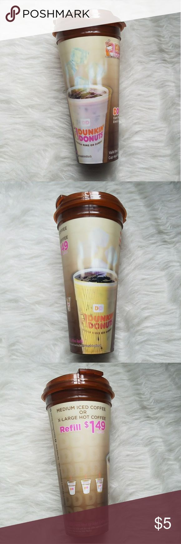 **Free**  Dunkin Donuts Holographic Reusable Cup With any purchase of $18 or more!  Add it to your purchase bundle and deduct this price 😁 Dunkin Donuts Other