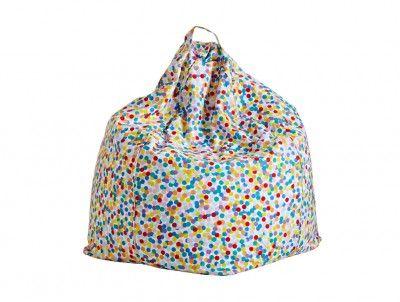 Confetti bean bag 1