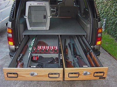 Improved storage for pick up trucks or SUV