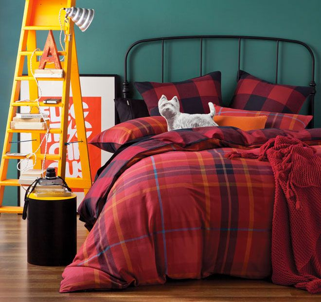 Red Linen House Balmoral Quilt Cover Set   <3