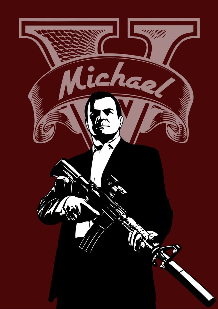Michael GTA V #gtav #videogames