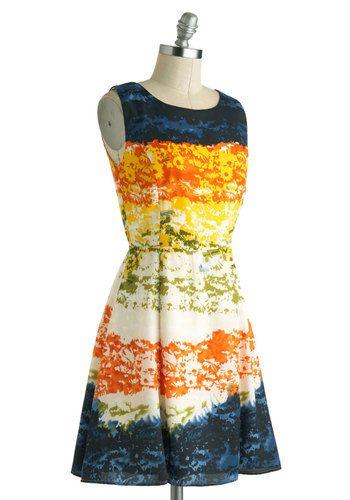 Mirage Band Dress, #ModCloth