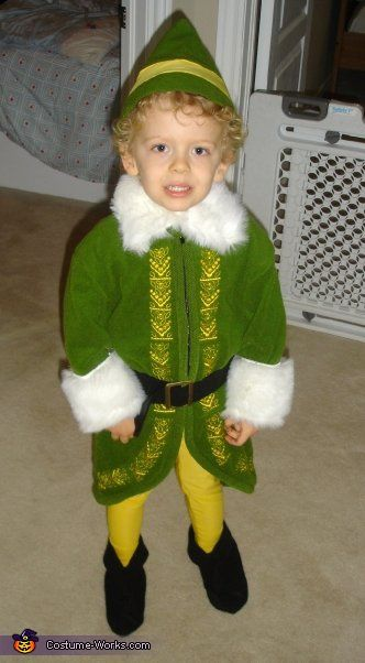 Buddy the Elf / Will Ferrell - Halloween Costume Contest via @Costume Works