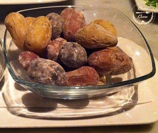 PAPAS ARRUGADAS PARA LA SALSA MOJO CANARIO. RECETA ORIGINAL CANARIA | Recetas de Cocina Casera | Encuentra tu receta