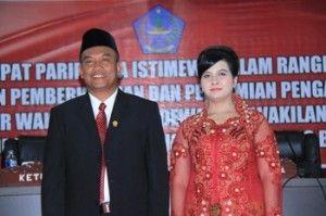DPRD Sitaro Lantik Denny Pumpente