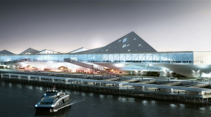 Port of Kinmen Passenger Service Center by Loha Architects