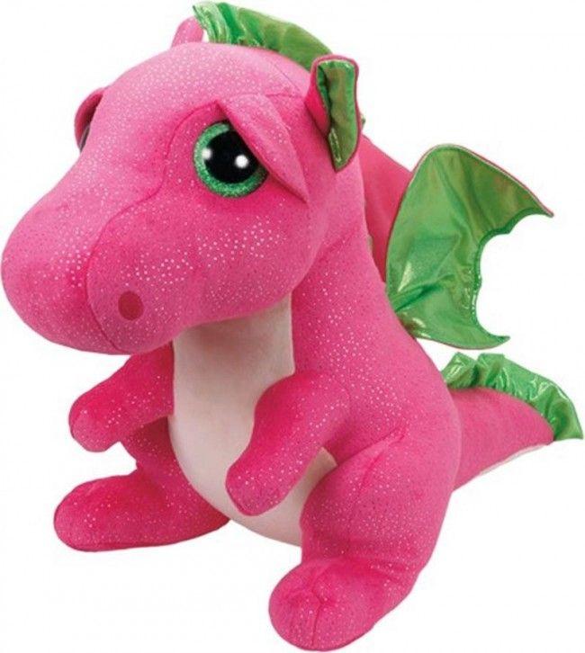 Ty - Beanie Boos Darla Le dragon rose 42 cm - Castello | Jeux et Jouets