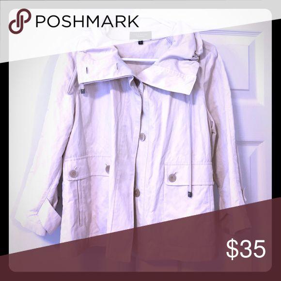 Khaki Jacket Light Khaki Jacket Talbots Jackets & Coats