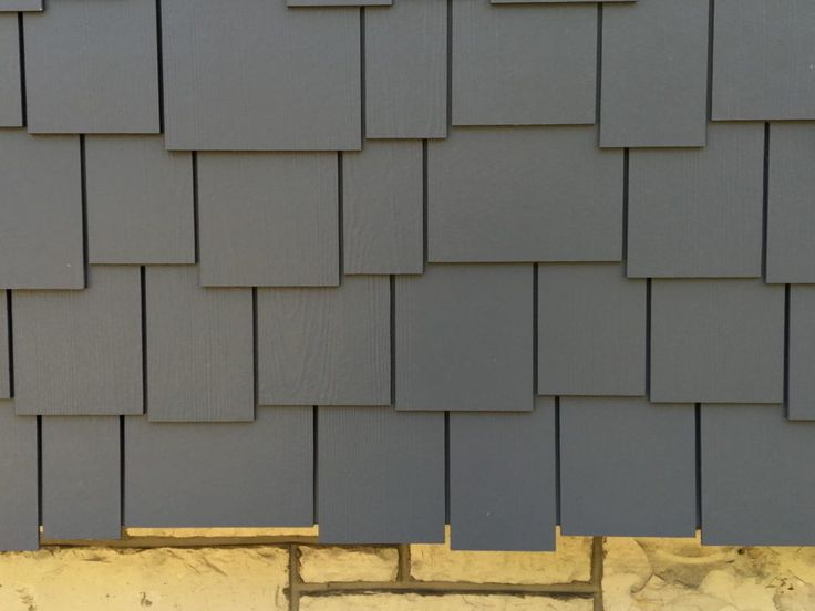 James Hardie Night Gray siding