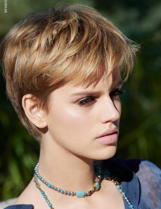 17++ Coiffure courte cheveux fins inspiration