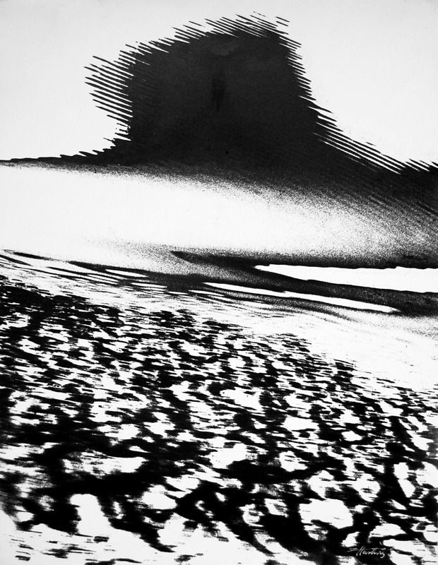 Edward Hartwig      Norwegian Landscape     1972