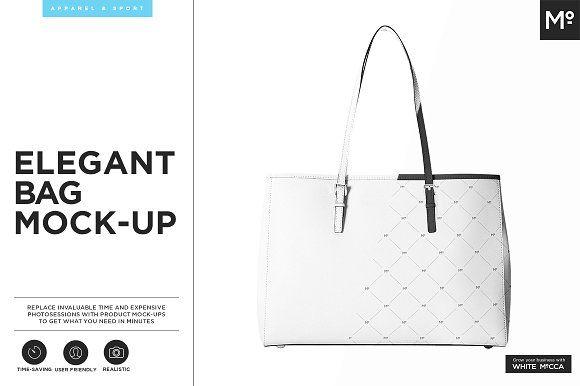 Elegant Bag Mock-up by Mocca2Go/mesmeriseme on @creativemarket